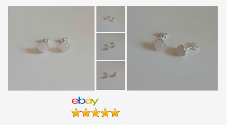 925 Sterling Silver & Rose Quartz 7mm round #stud Earrings - boxed | eBay #handmade #sterlingsilver #pink #rosequartz #stud #earrings #jewellery #UKHashTags #jewelry #accessories #gifts #popular #giftideas #ebay #giftsforher #anxiety #pretty #cute
