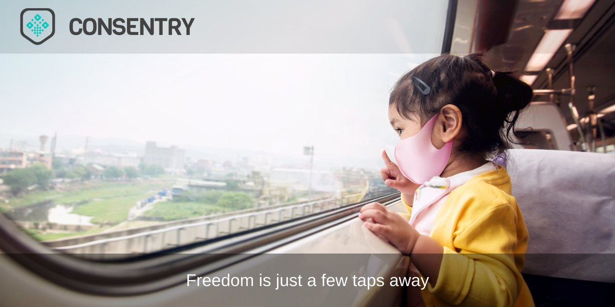 Freedom is just a few taps away. Through scanning your test kit and receiving results when ready, Consentry can generate a health certificate to affirm you're safe to travel. Find out how Consentry can get you back out into the world today.  #health #travel