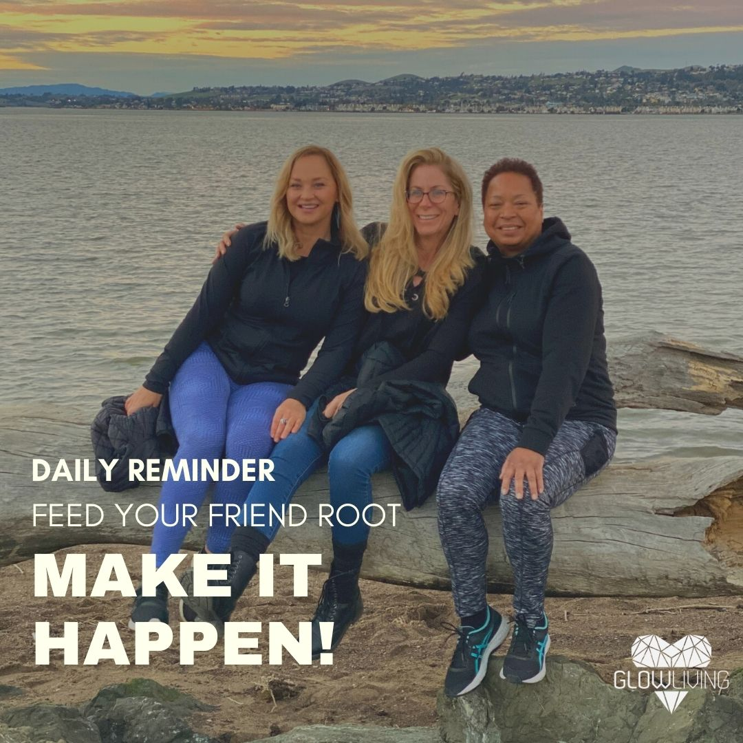 "Don't forget to use Spring energy as forward momentum to manifest your goals. Follow our reminders to #MakeItHappen. Today, feed your ""friend root"" and sign up for Root-to-Rise on Udemy  #roottorise #lovelife #friends"