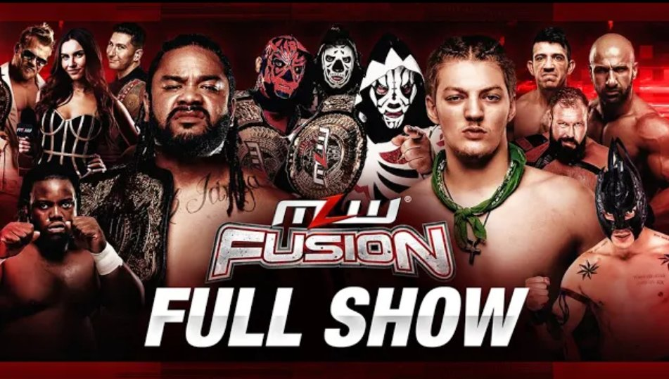 MLW Fusion #123 Results