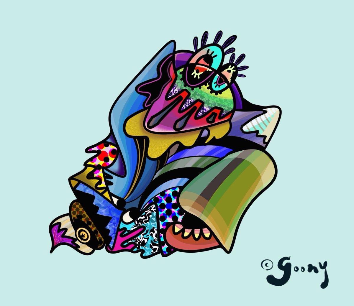 #digitaldrawing #drawing #doodle #picture #painting #sketch #illustration #digitalart #art #arte #artwork  #popart  #color #artgallery #originalart #ipadproart #design #lowbrowart #graphic #vexx  #アート #デザイン #イラスト