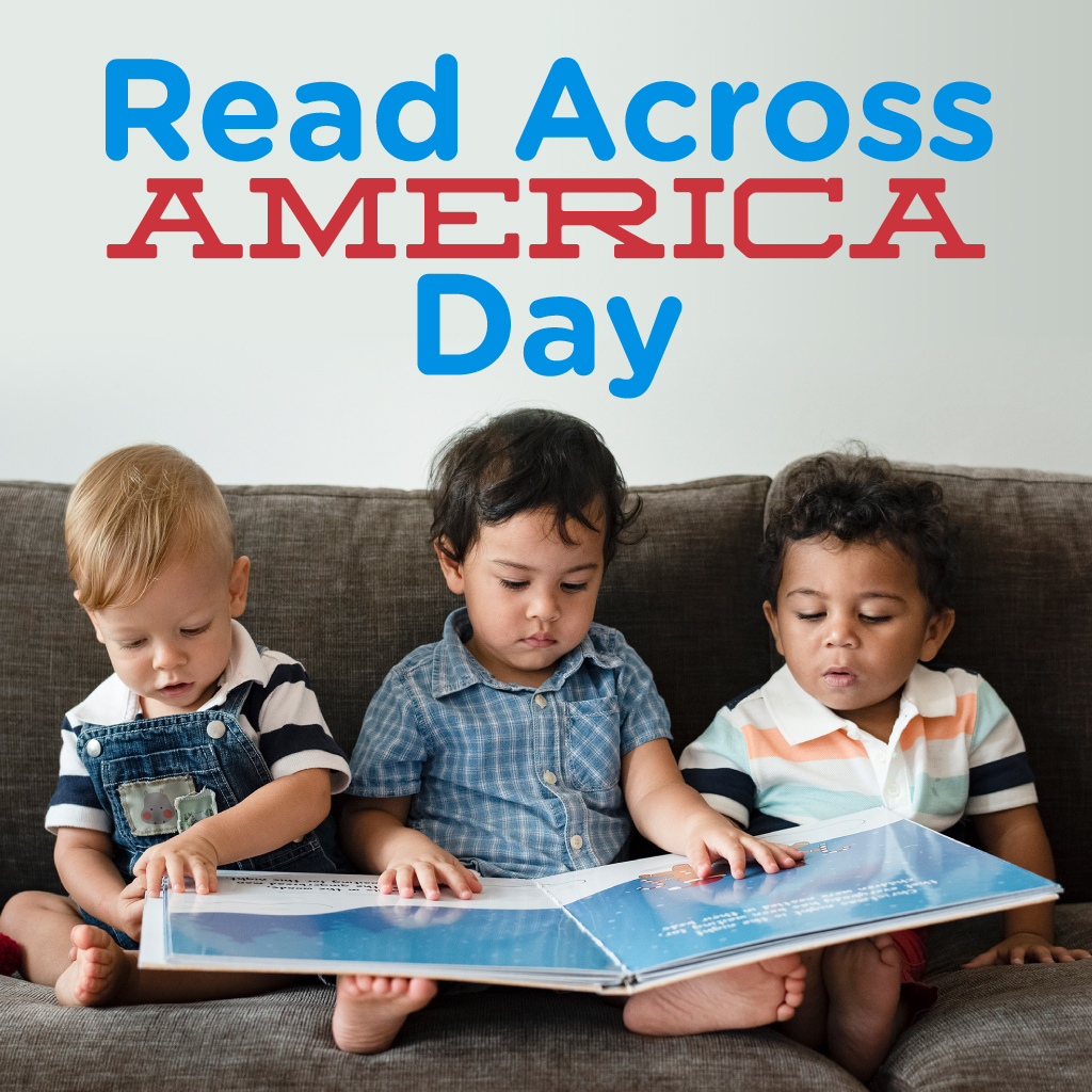 We're celebrating #ReadAcrossAmericaDay! Reading to your child builds a love of books and the foundation for lifelong language and literacy skills. You can sign your child up to receive FREE books through @dollyslibrary here:  #mecklenburgcounty #kidsbooks