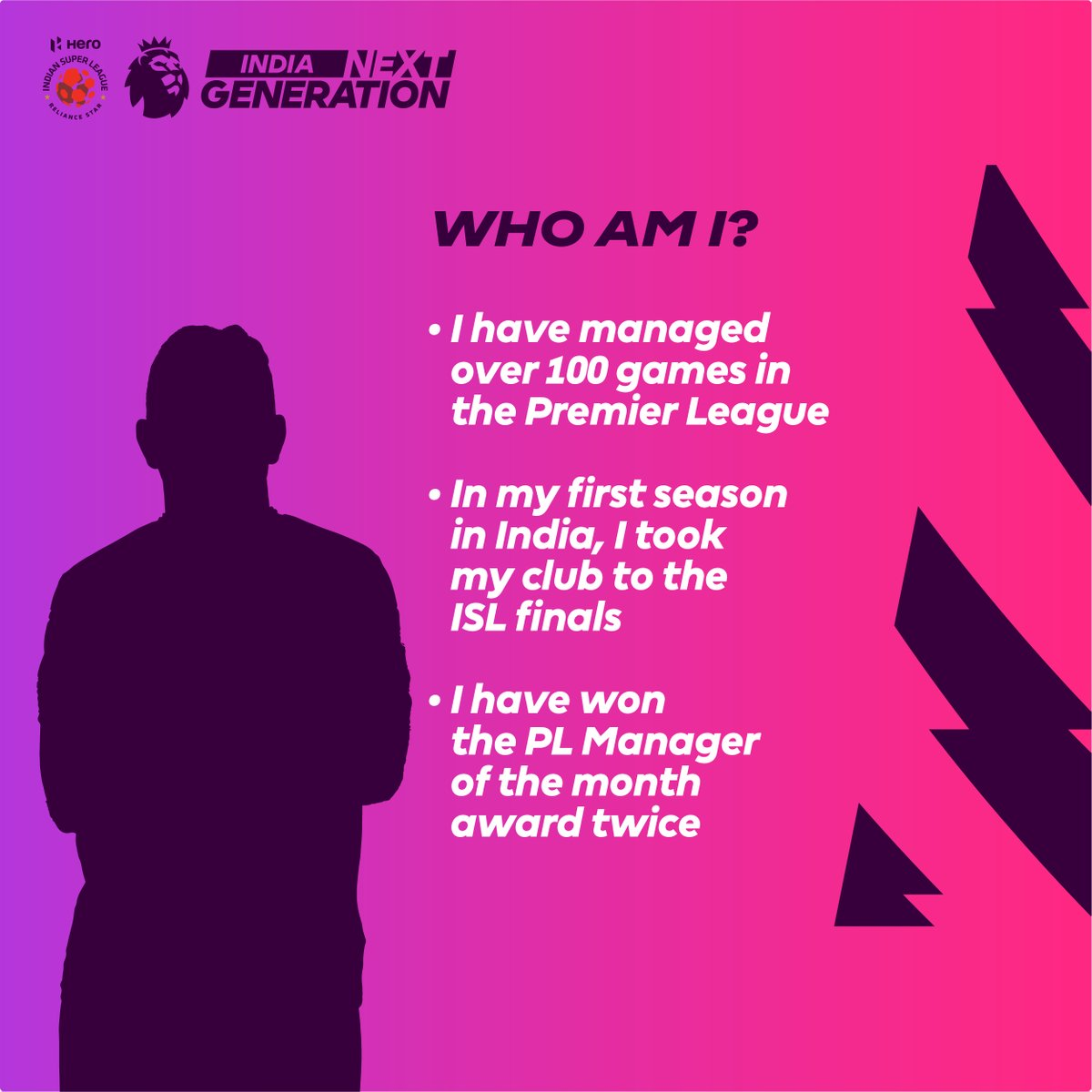 Can you guess who this @IndSuperLeague manager is?   Comment ➕ RT and 1⃣ lucky winner will get their hands on the 🆕 @nikefootball FLIGHT ⚽️