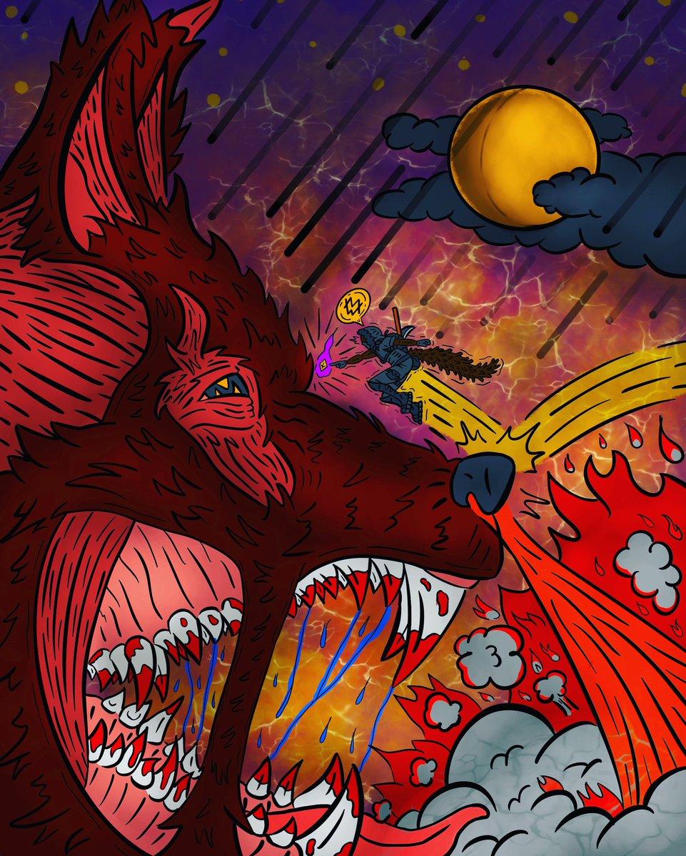 ATTACK ON LYCAN!   #AttackonTitanFinalSeason #AttackOnTitan #anime #lycan #wolf #Werewolf #Wolves #BlackLightning #BlackLivesMatter #DemonSlayer #lycanthropy #Toonami #manga #conceptart #conceptartist #fanart #art #artwork #artistsontwitter #ArtofLegends #ArtsOfAshes #marvel #dc