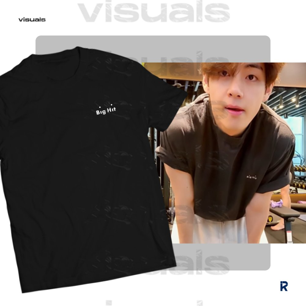 Big Hit shirt is now available. Get yours now! 🤍  Shirt:   #BigHit #BE_Log #곰랑이 #filmed_by_V
