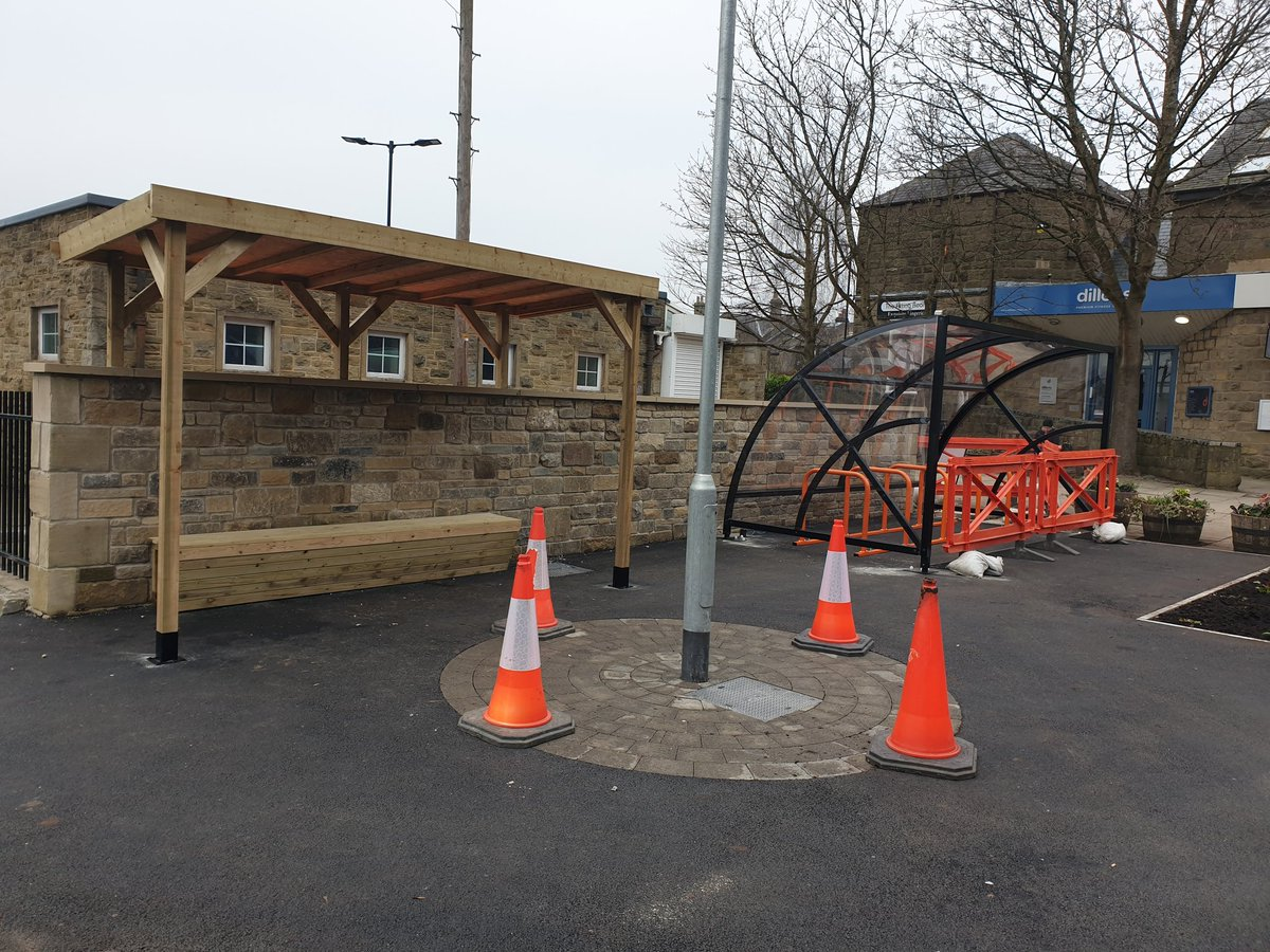 RT @SimonDVali1: Nearly ready.  Ilkley Cycle Hub, the first of it's kind in the district.  Great work again by the team from the Active Travel Programme. The district is moving forward positively. @kersten_england @Alex_Ross_Shaw @CityConnect1 @davelostdave @OnnaBike @bradfordmdc @Active_Bradford