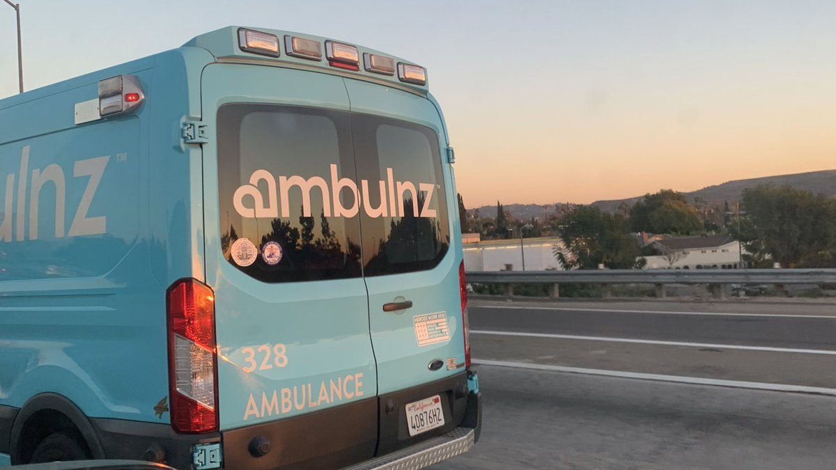you're bleeding out and you call an ambulance but what arrives is the ambulnz...wyd?