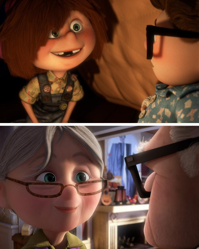 Find someone who looks at you the same way Ellie looks at Carl. ❤️