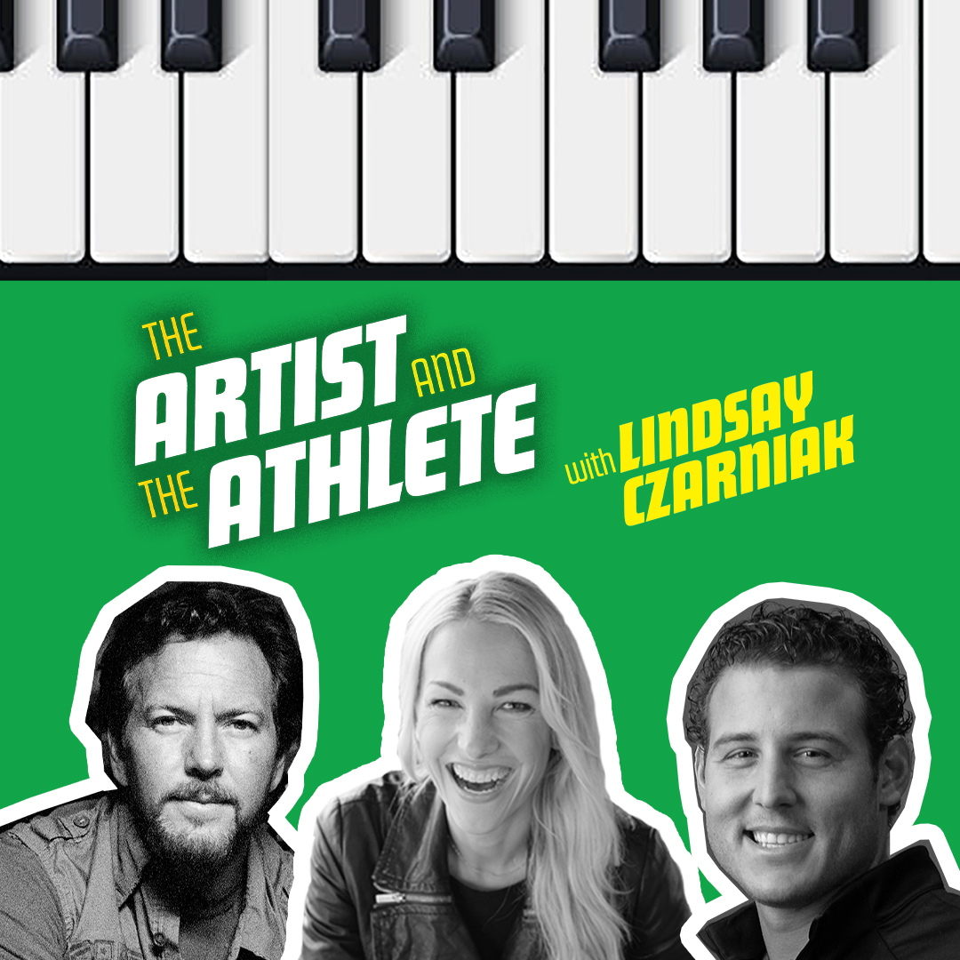 Eddie and @ARizzo44 sat down with @LindsayCzarniak to talk about the worlds of sports and music.   Listen now wherever you get your podcasts: