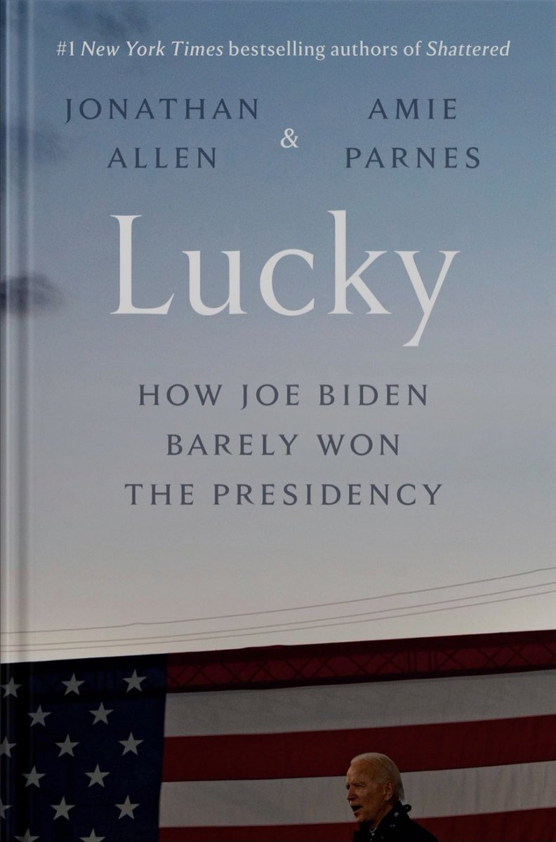 What everyone's thoughts on this new book title about President Biden?
