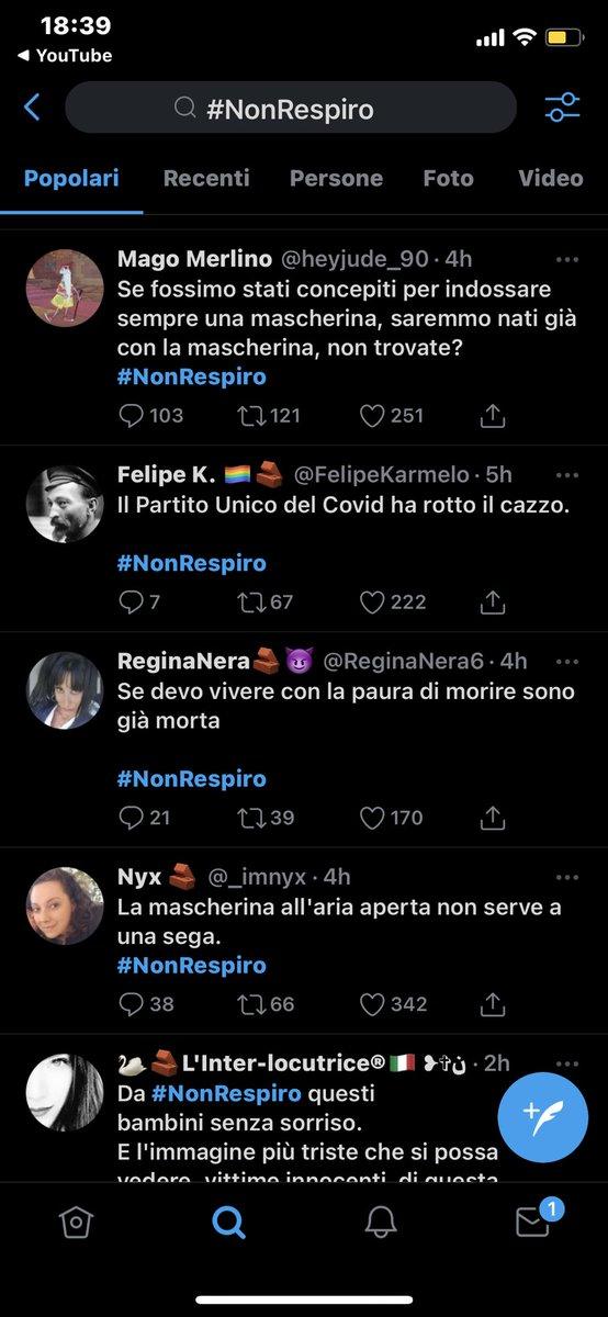 #NonRespiro