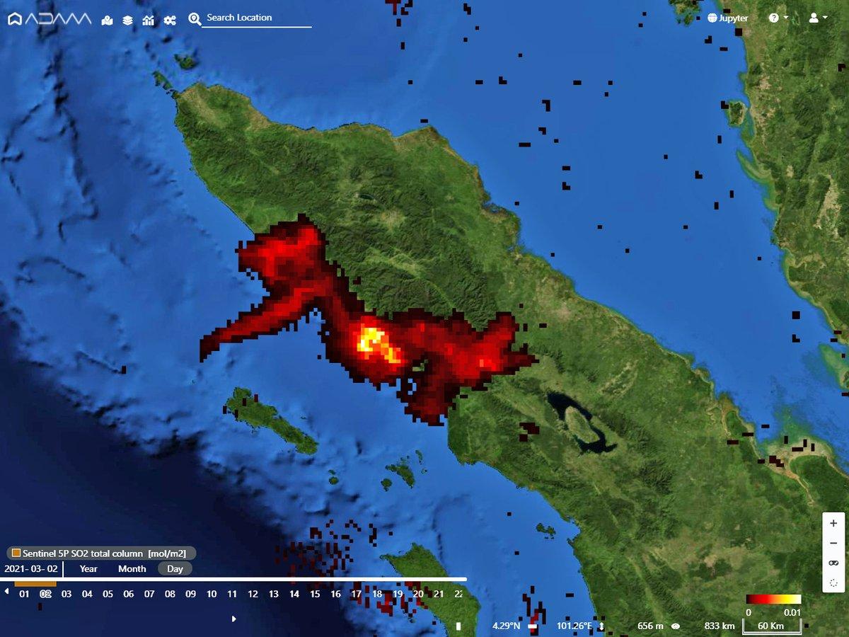 Indonesia Eruption 2021