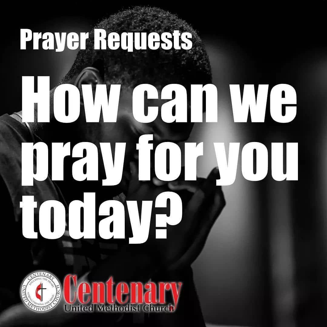 How can we #pray for you today? . .  #centenarymemphis #fridaymotivation #prayer #peace #powerofprayer #umc #memphis
