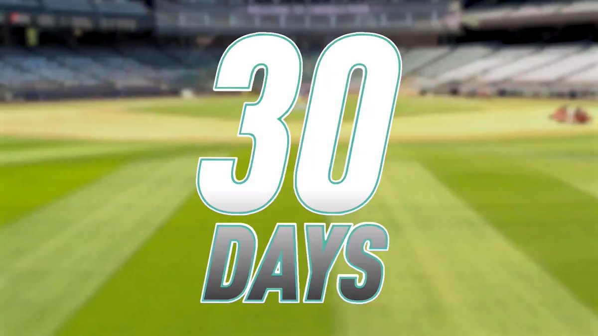 We're 30 days away! 👀 #OpeningNight