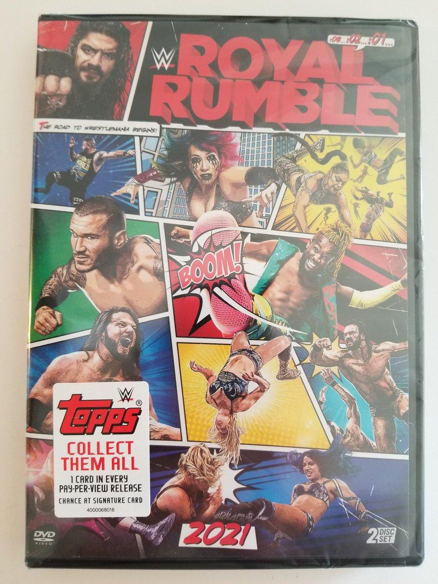 Now Available Nationwide  @BestBuy @Walmart  #WWE #RoyalRumble 2021
