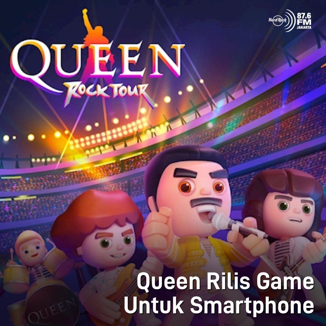 #HRFMNews Ga hanya dengerin, sekarang lo bisa jd salah satu anggota band dan mainin lagu Queen di smartphone!  Mirip dg Guitar Hero, game ini mengajak lo untuk ikut serta bermusik dg hitsnya Queen. Tenang, game ini tersedia untuk iOs dan Android kok, jadi siapapun bisa download