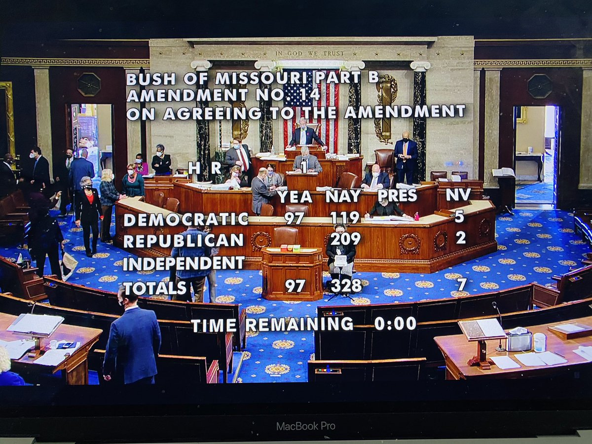 Here is the state of the Democratic Party today: a whopping 119 DEMOCRATS just voted AGAINST restoring voting rights to people in prison. Congress Member @CoriBush heroically tried to add this provision to HR 1. Her own party failed her. We still have so much to teach Democrats.
