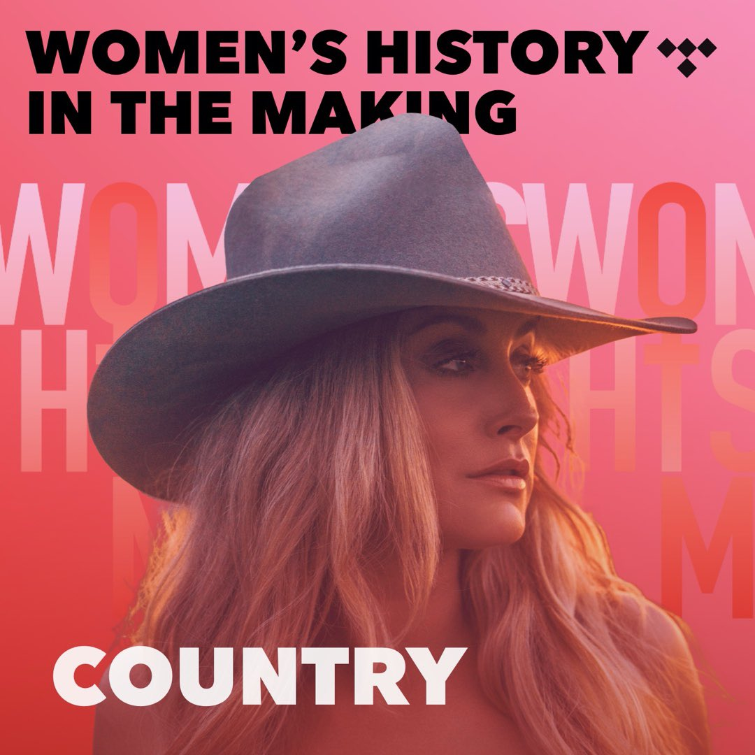So honored to have #ByHeart be included on @TIDAL's Women's History in the Making playlist & be on the cover, especially during #WomensHistoryMonth. I'm so inspired by all the women on this playlist. Do yourself a favor and stream it today! 🎵 Listen here: