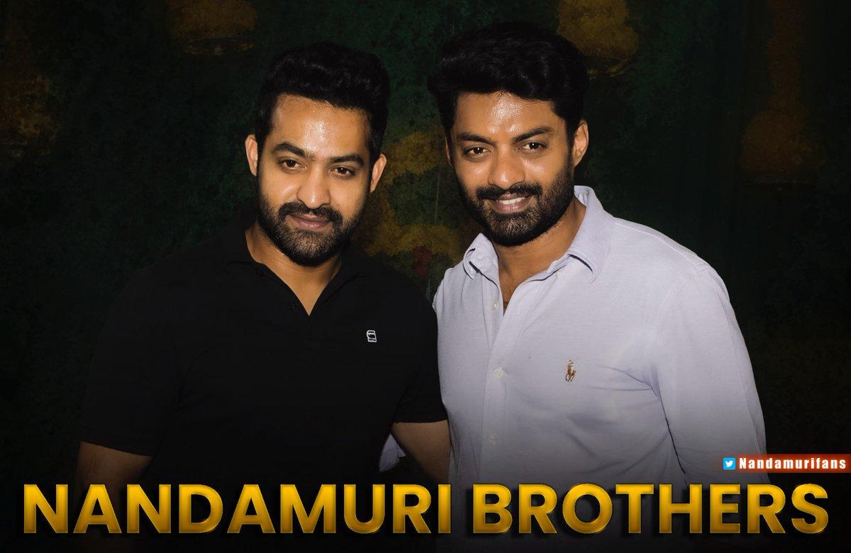 Nandamuri Brothers ✨💫 #NTR @tarak9999 @NANDAMURIKALYAN #NandamuriKalyanRam #NfansPics