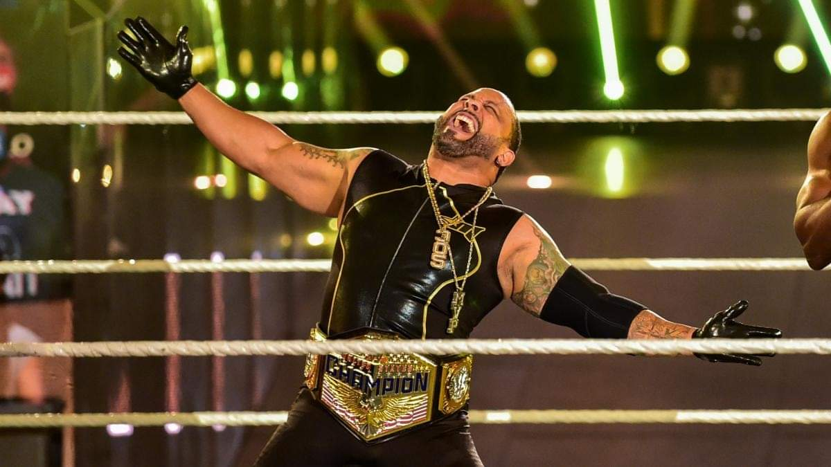 MVP walked back into #WWE as a random #RoyalRumble entrant and ended up saving the careers of 3 floundering wrestlers and bringing himself back into prominence with Hurt Business.  👏🏾✊🏾