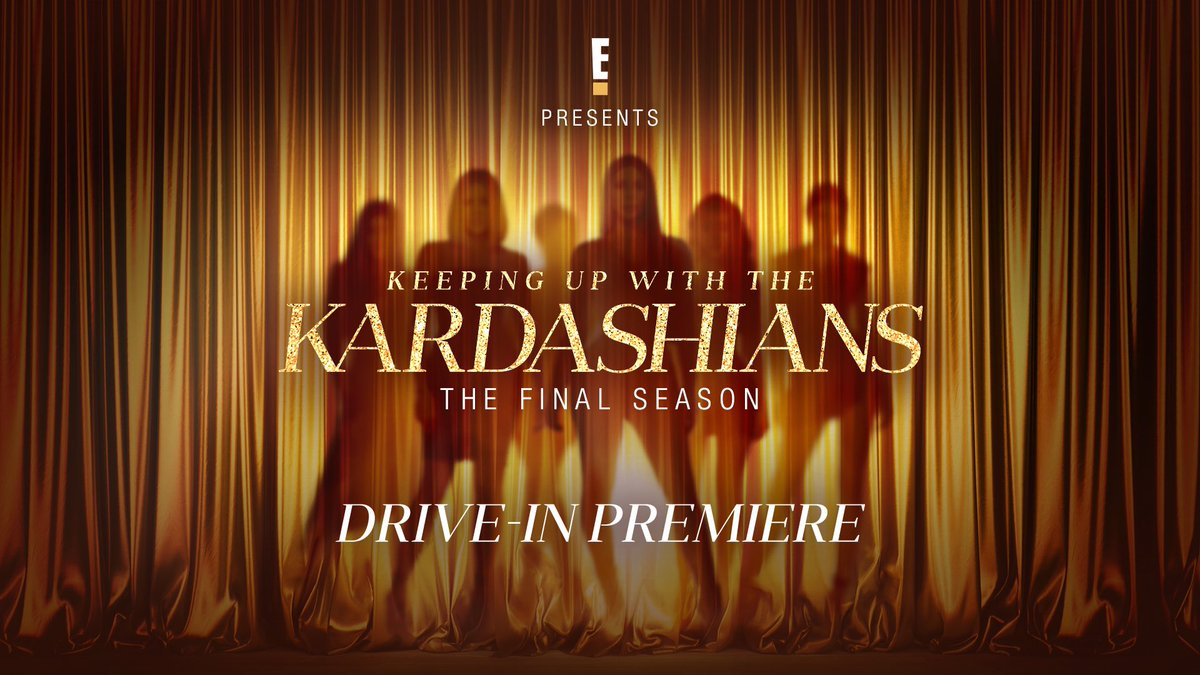 Don't miss the @KUWTK Season Premiere LIVE at the first-ever #KUWTK Drive-in Experience. Go to https://t.co/OHdsuKxl77 for more details and to reserve your ticket for March 13. https://t.co/2GXm2CxGP7