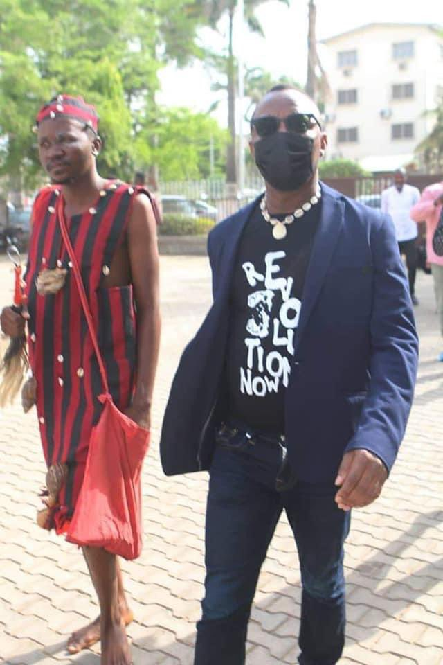 During first #EndSARS protests, @YeleSowore screamed himself hoarse and yet was overshadowed by DJ Switch. He initiated #Lekkitollgate protests, but was upstaged by Mr Macaroni. Now he dragged a fake herbalist to court just to get that desperately coveted attention.  Pathetic!