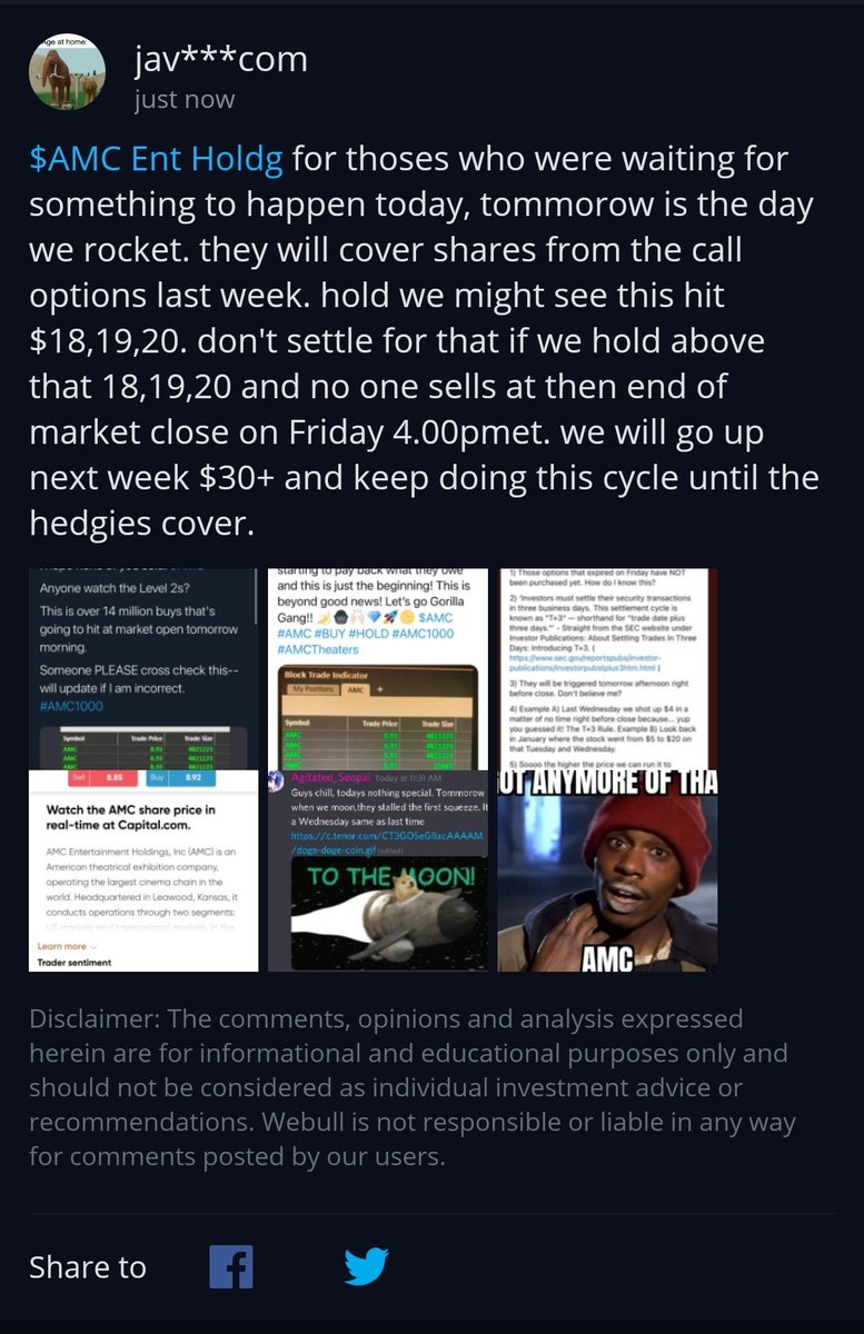 ATTENTION: Please Read Before Tommorow. Things are getting worse for hedgies. There out of ammo, hodl  #stocks #tothemoon #buy #hold #hodl #AMC #AMCto100 #buythedip #AMCSqueeze #amcstock #AMCtothemoon #HoldAMC #SaveAMC #Stonks #daytrading #amc #AMCARMY #amcstock $amc #dontsellamc
