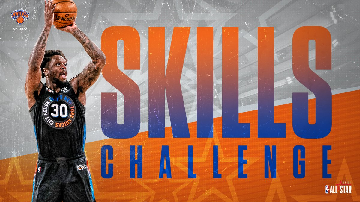 Reppin' the orange and blue!  @J30_RANDLE will participate in this year's Skills Challenge at #NBAAllStar. https://t.co/epGsmTXoD6