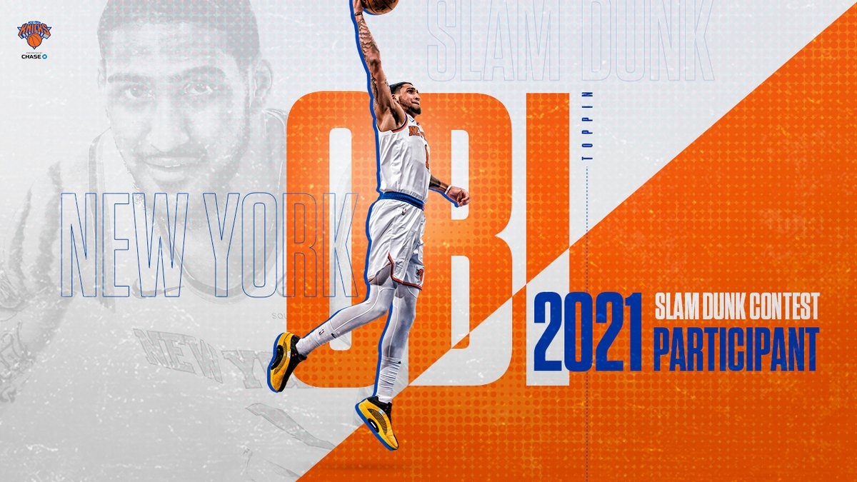 Officially official: Obi One will take flight at the 2021 Slam Dunk Contest! 🗽 https://t.co/6OZAAPMNwD