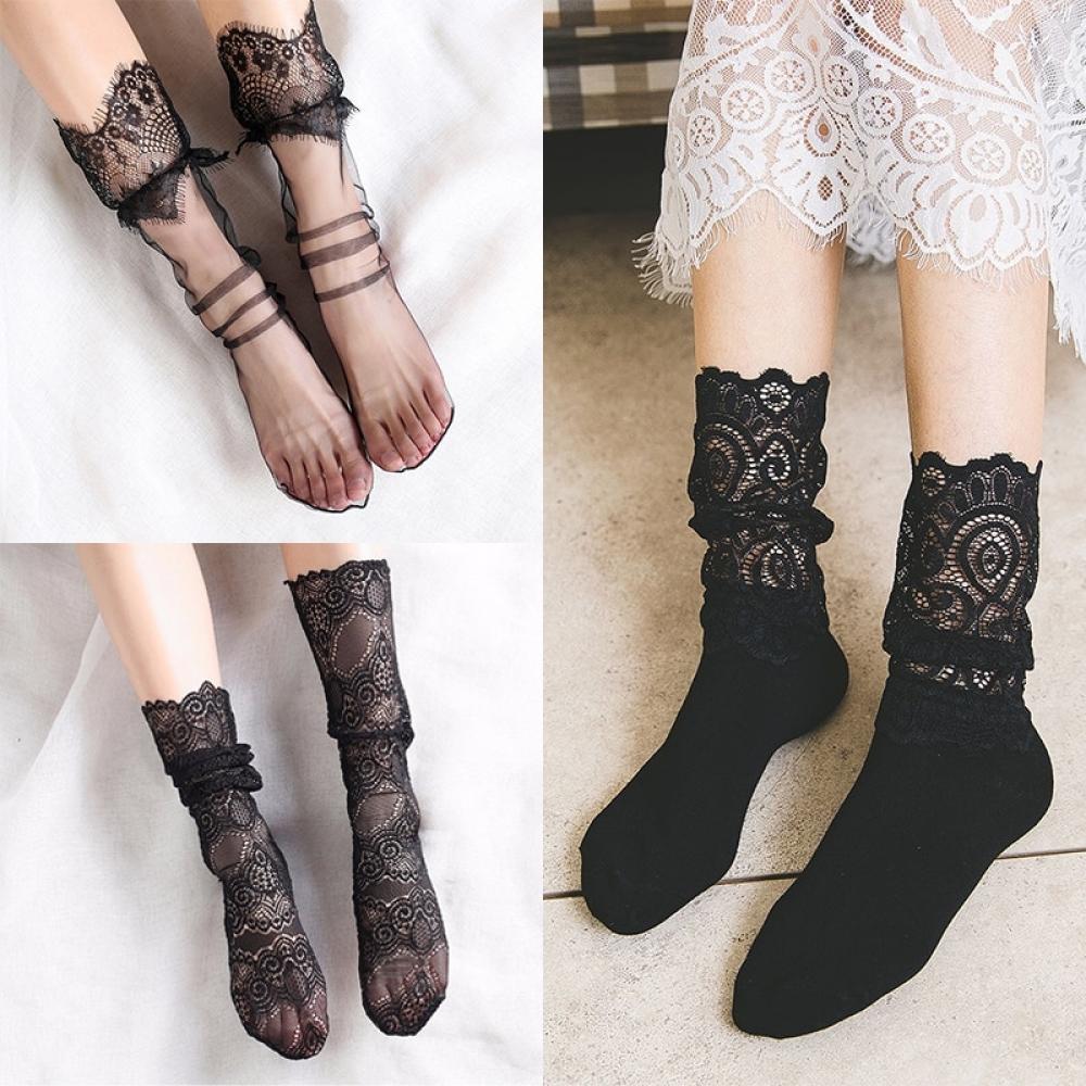 Lady Transparent Short Socks #design #likeforlike