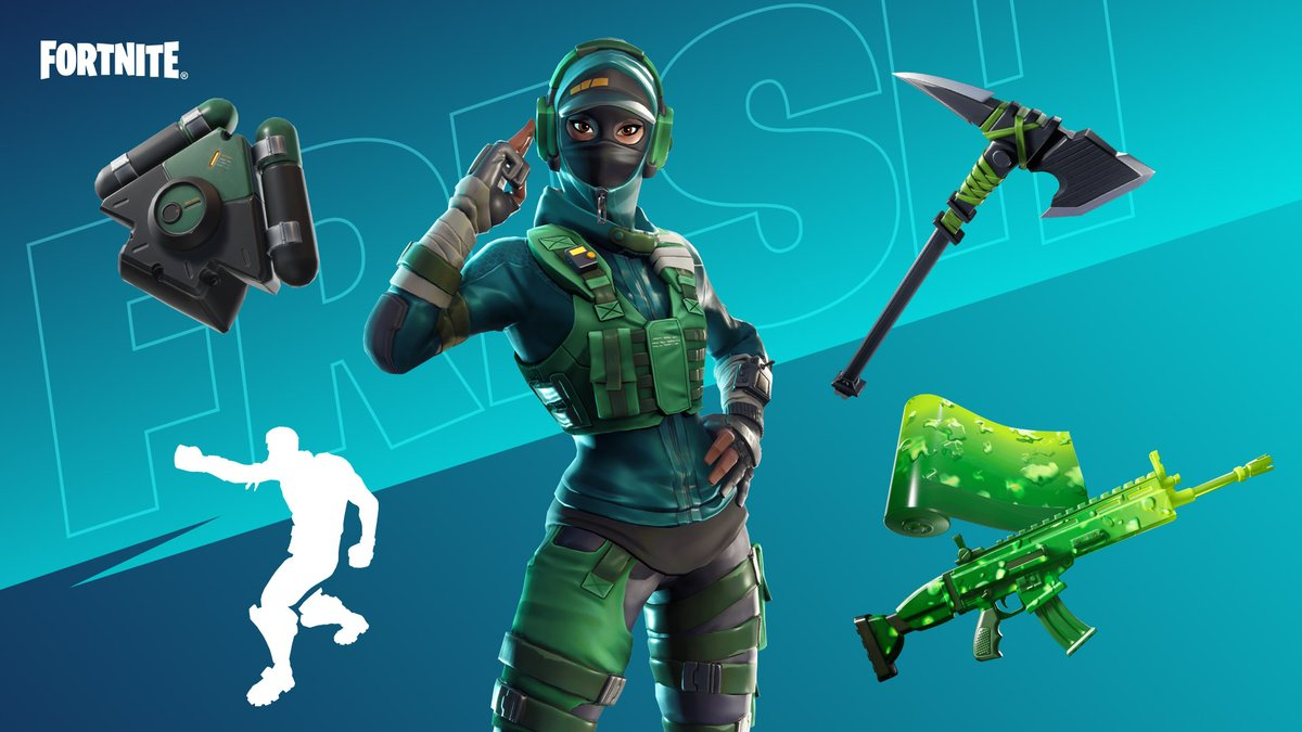 The Thiccest and Freshest locker bundle in Fortnite.  Grab @mrfreshasian's hand-picked Locker Bundle in the Shop now!