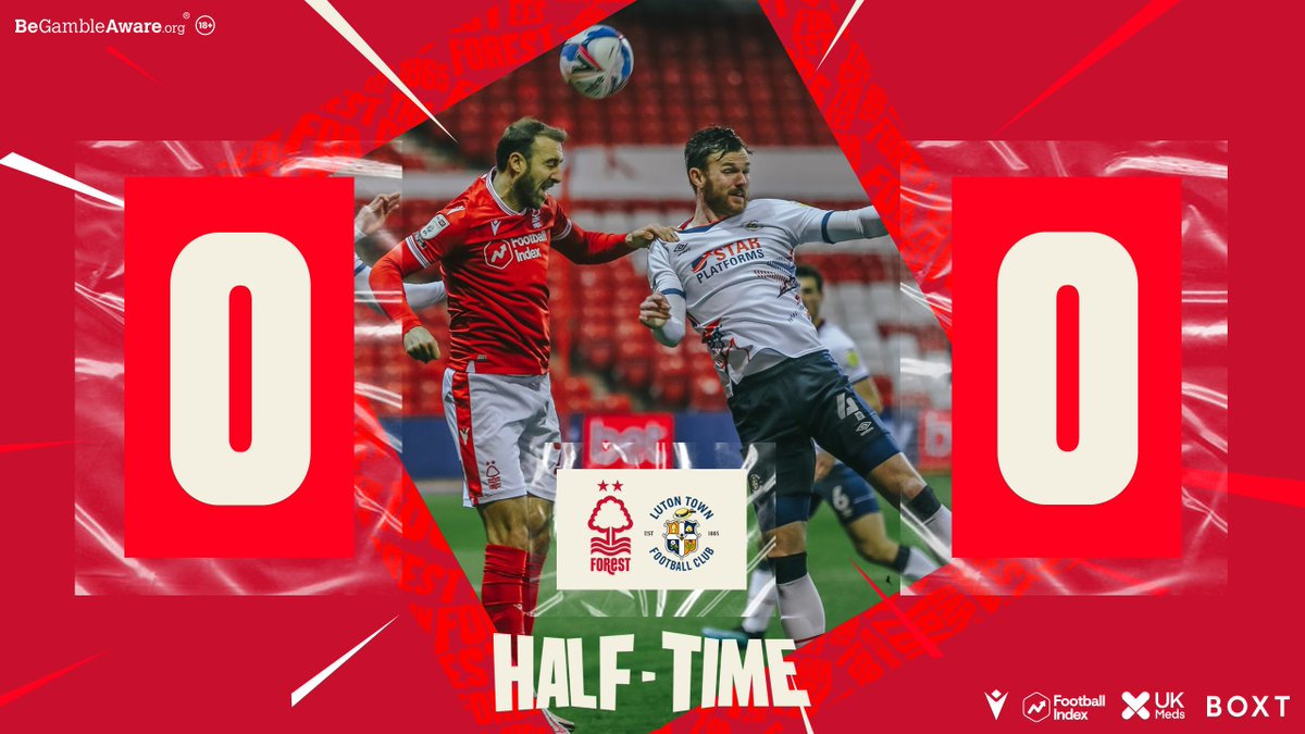 Level at the interval. #NFFC https://t.co/LZu5xsdTBw