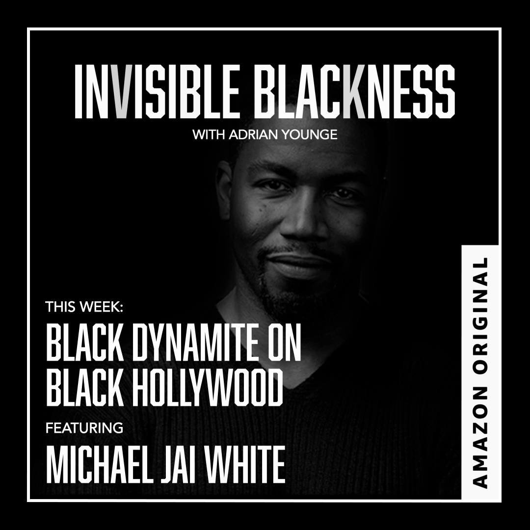 """Listen to the final episode of @AdrianYounge's insightful podcast """"Invisible Blackness"""" now — featuring a convo with actor & martial artist @MichaelJaiWhite.  You can hear this week's episode, as well as the other great conversations, only on Amazon Music:"""