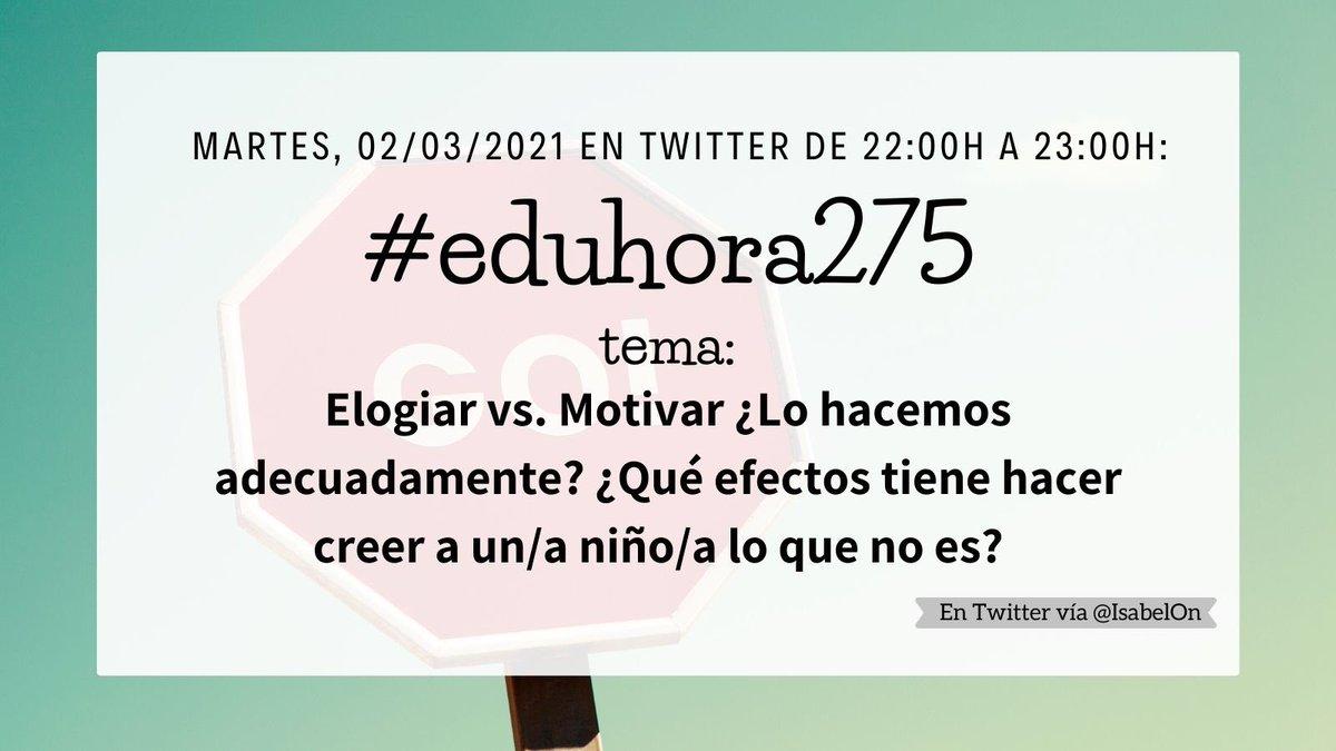 Mi querido #claustrovirtual de la #eduhora275, esta noche llegó para desearos buenas noches, y leeros en diferido. 😉