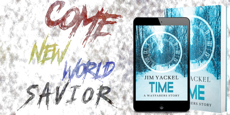 #NewRelease It seemed that everyone knew the red, yellow, blue, and black, but they had yet to see the figure that would claim to be the god of it. #MustRead 'Time: A Wayfarers Story'   #Fiction #Suspense #EndTimes #AntiChrist #Prophecy #BookBoost #IARTG