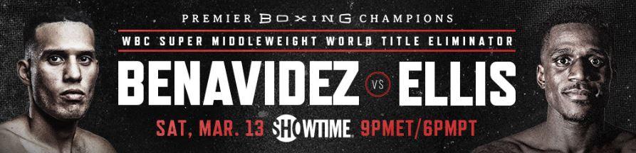 🗣️PBC On Showtime!  🥊David Benavidez vs Ronald Ellis (World Title Eliminator) ➕Isaac Cruz vs Matías Romero ➕Terrell Gausha vs Jamontay Clark 🗓️Sat. March 13 // 9PM et - 6PM pt 📺SHOWTIME  #boxing | #boxeo | #PBCOnShowtime | @Benavidez300 | @RevRon89