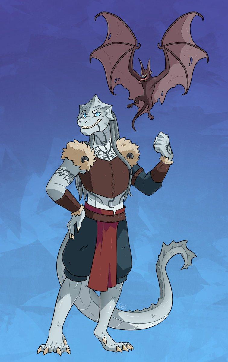 Character Design commission I did for my friend of their dragonborn girl Ori 😳 #oc #originalcharacter #characterart #characterdesign #dnd #dungeonsanddragons #dndcharacter #dndartists #dragon #dragonborn #digitalart