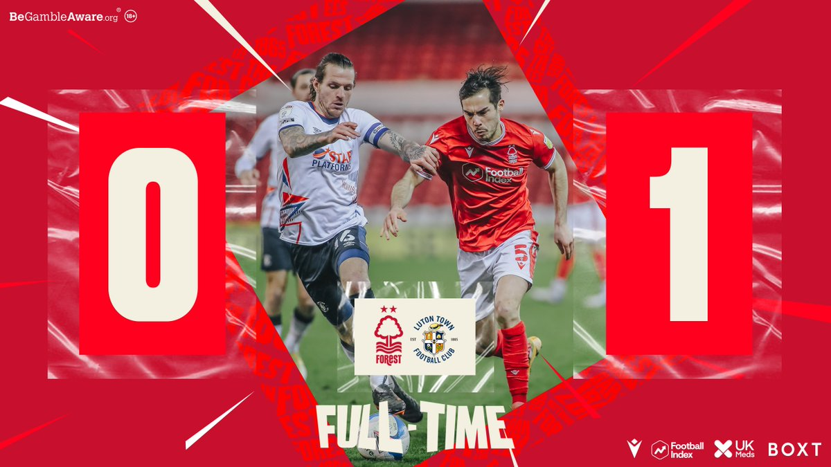 It's defeat for #NFFC at The City Ground. https://t.co/4tCGTEGmJI