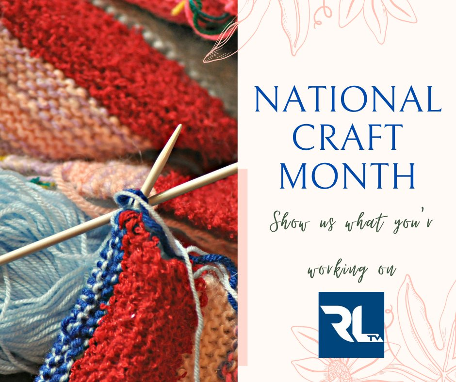 March is #NationalCraftMonth. Show us what you're working on.  #SaturdayMorning #SaturdayThoughts #SaturdayMotivation
