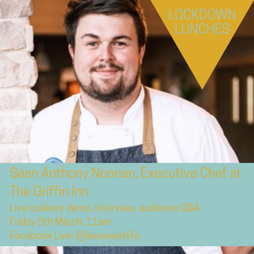 Join us, join in & have fun with Foodie Book Clubs Lockdown Lunches Friday 11am. Watch  @seannoonanchef Executive chef of @thegriffininncook live   #tuesdaymotivations #foodanddrink #foodiebookclub