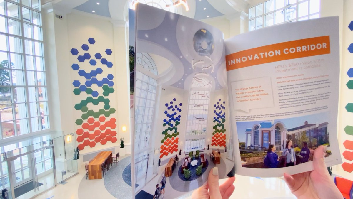 🟢🔵🟠 HPU Magazine: Innovation Edition. Coming to a stand or mailbox near you soon. 📖  #HPU365