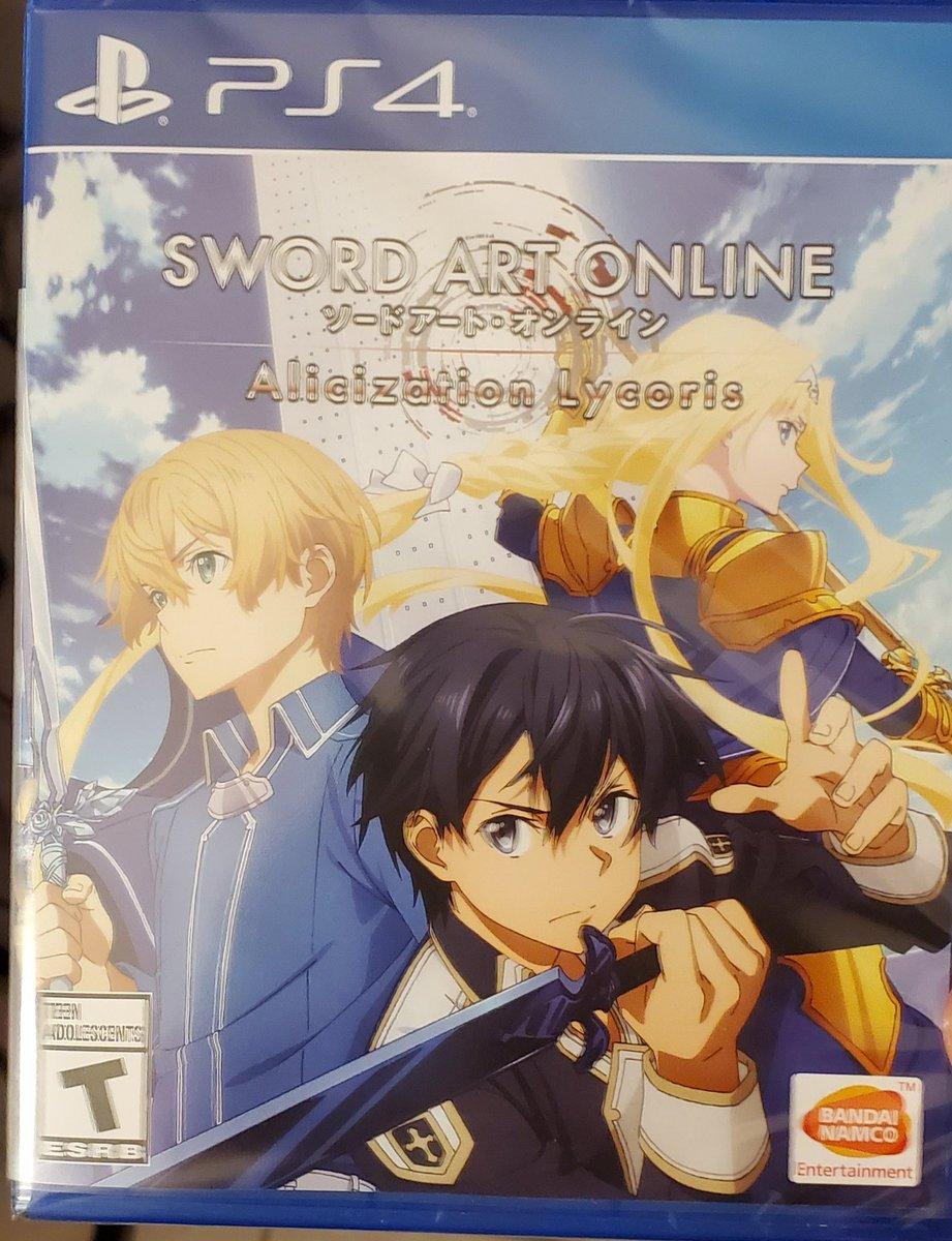 Mail Call!  Sword Art Online Alicization Lycoris for PS4.  #swordartonline  #playstation4  #gamer #swordartonlinealicization
