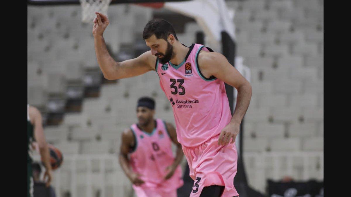 🏀👏 El GRAN partit de @NikolaMirotic33 vs Panathinaikos: 25 punts i 27 de valoració
