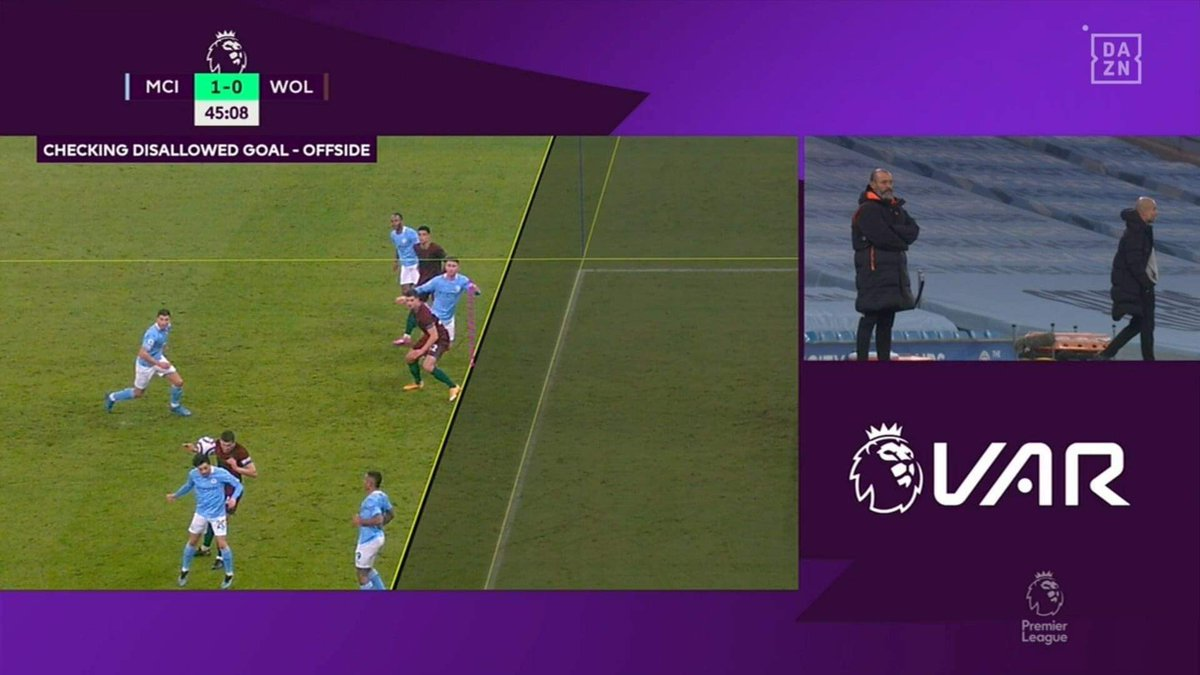 Thoughts? 🤔  Definitely something @sm_borg and I will talk about tomorrow night on our pod @IFTPodcastAU.  Going to be an action-packed episode!  #MCIWOL #PremierLeague #VAR