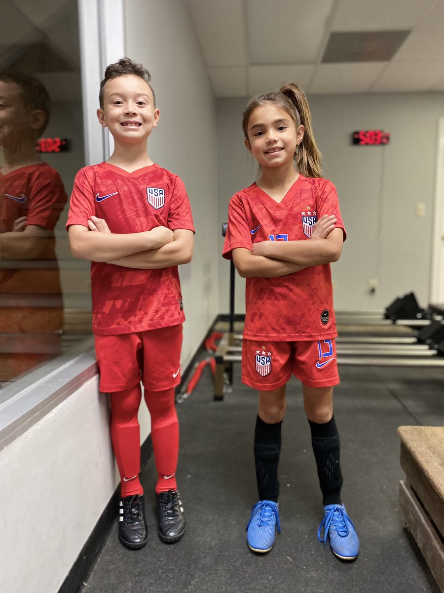 This is one of @JosephFirat's soccer friends. She's fierce. She's one of his favorites to train with because she makes you work for every touch.  This wknd the league she plays in asked her coach not to play her with the boys.   In what century do I live?