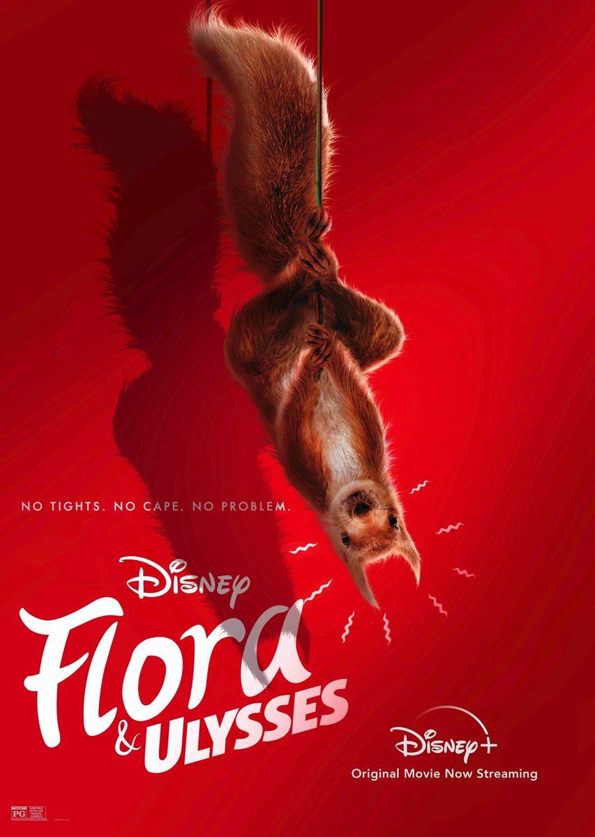 Just hanging out with @Bosslogic 👋 Check out this exclusive poster and don't miss #FloraAndUlysses, now streaming on #DisneyPlus! https://t.co/4T3Th4BVYm