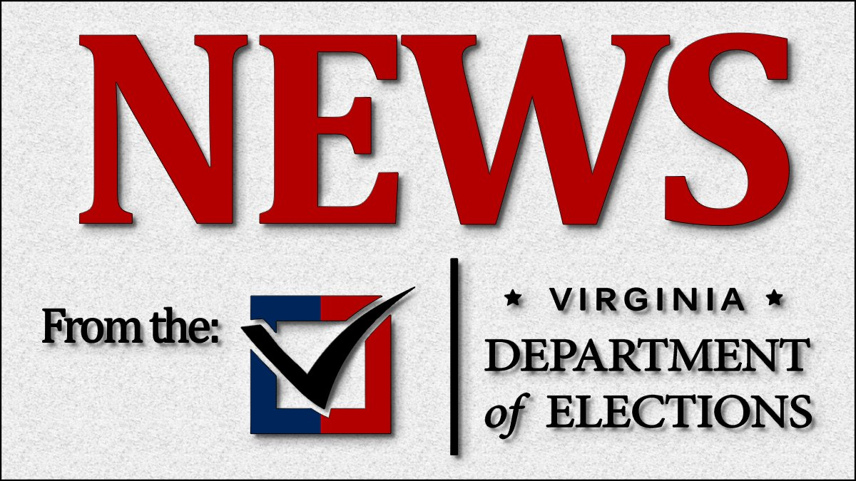Statewide risk-limiting audit of Nov. 2020 General Election confirms original count of votes accurately portrayed winners in Virginia for U.S. President and Senate.  #VAisForVoters