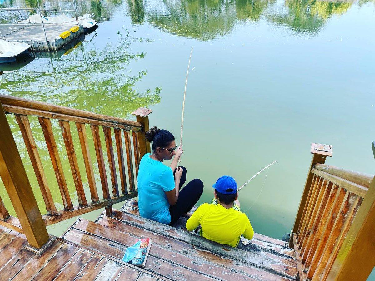 Fishing teaches patience to kids #littlepassportsindia #fishing #kerala #indiakids #traveltolearn #travelisfun #travelwithkids #kidstrip #mompreneur #travel #happykids #mom #mommy #mommylife #mommyblogger  #happykid #momofinstagram #holiday  #mumbaimoms #travelbug #traveltheworld