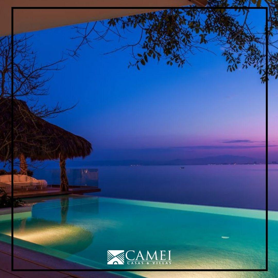 Every sunset is also a sunrise!! Vacation Villa in Puerto Vallarta!  Visit us and enjoy! erwin.villascamei@gmail.com    #cameivillas #rentavillapv #vacationvilla #travel #familyfun #luxurytravel #rentavillacamei