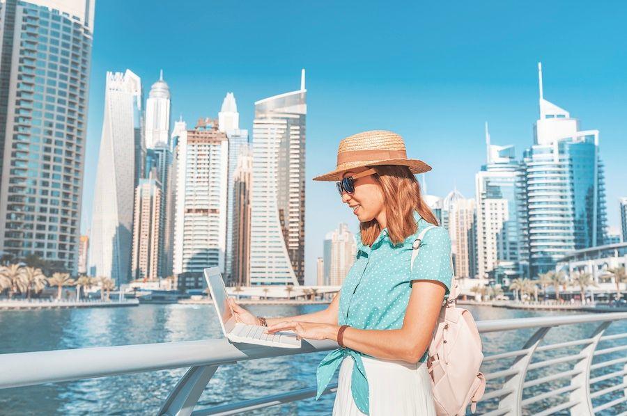 Dubai Offering Vaccine To Digital Nomads  #digitalnomad #travel #vaccince